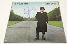 ELTON JOHN SIGNED AUTOGRAPH ALBUM VINYL RECORD A SINGLE MAN ROCKETMAN LEGEND JSA