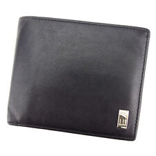 Auth dunhill Bifold Wallet with logo Men''s used T2987