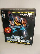 Net Warrior (2CDs) Online Gaming Starter Kit Big BOX NEW