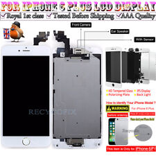 For iPhone 6 Plus Retina LCD Screen Replacement Touch Digitizer Camera White