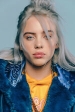 L0018 24x36'' Art Decor Billie Eilish Poster Pop Music
