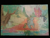 "Vintage 1984 MY LITTLE PONY 125 Piece Puzzle 11"" X 17""  Pony's  Playing  Castle"