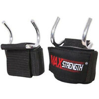 Wrist Support Gym Training Wraps Weight Lifting Hook Bar Girpper Chin Up Power