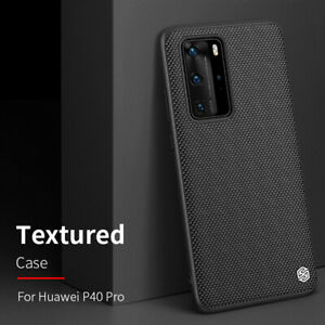 Nillkin Soft TPU Frame & Hard PC Textured Cover Case For Huawei P40 Pro