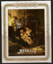 Niue - 1981 - Sc 351 - Christmas (Rembrandt) VF MNH