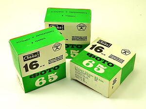 3 FILM SVEMA 16 mm B/W GOST65 DIN20 ASA80  10 m Old stock For mini cameras