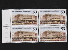 1985 germany Berlin Sc#9N501 Mi#740 Margin Block of 4 With Control Number MNH