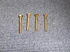 Set Of 8 Brand New GOLD Brass Pinball Leg BOLTS : Mr Pinball RARE PRODUCT
