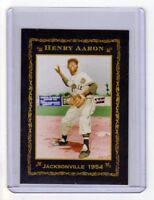 Hank Aaron '54 Jacksonville minor league rare printing of 200 Monarch Corona 🔥