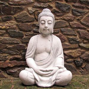 Buddha, Figur, Statue, Garten, Skulptur im asiatischem Design, winterfest