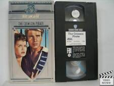 The Crimson Pirate (VHS) Burt Lancaster1987
