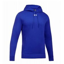 Under Armour Hustle Fleece Team Hoodie Mens 1300123 - Royal - XL
