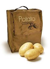 Eddingtons Extra Large Reusable Canvas Potato Storage Case Keeps Fresher Longer