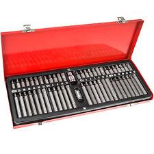 Set box di bit torx multidentati chiavi per viti ad esagono cavo da 54 pz. nuovo