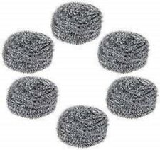 Generic Steel Scrubber Combo Set (Pack of 6) cleaning bowl,dish wash