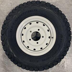 "Genuine Land Rover Defender Wolf 16"" Steel Wheels & BFG All-Terrain KO2 Tyres x4"