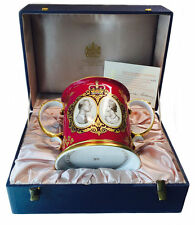 The Royal 25th Wedding Anniversary Loving Mug By Spode Limited Edition 244 / 500