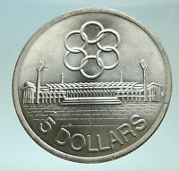 1973 SINGAPORE Southeast Asia Games SEAP Genuine Silver $10 CHINESE Coin i75972