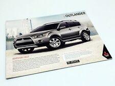 2013 Mitsubishi Outlander ES 2WD ES 4WD LS 4WD XLS S-AWC Brochure