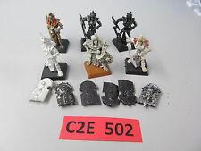 Warhammer Fantasy AoS Undead 6 oop metal Tomb Kings Tomb Guard