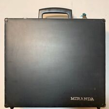 Vintage Miranda Photography Camera Box with Keys