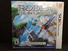 Rodea the Sky Soldier (Nintendo 3DS, 2015) Soundtrack Included NEW!