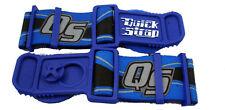 New Blue Roko Goggle Quick Straps MX ATV UTV Off-Road Motorcycle Goggle Straps
