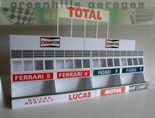 Greenhills Scalextric Slot Car Building Kit Le Mans Pit Boxes 1:32 Scale - Br...