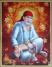Sai Baba Saibaba - Print POSTER (8.5x11 Inches)