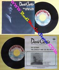 LP 45 7'' DAVID CASTLE Ten to eight The loneliest man on the moon no cd mc dvd *