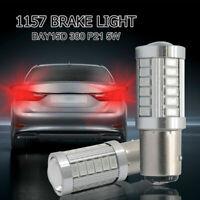 2x BAY15D 1157 380 (P21/5W) 5630 33 LED LAMPADA POSTERIORE FRENO LAMPADINA ROSSO