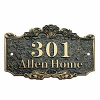 "Custom House sign Address Plaque 7.9"" L x 11.8""W Street Sign 3D Acrylic Plaque"