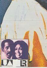 Tina Turner - original Signatur in person vom 6.6. 1990  - G-065