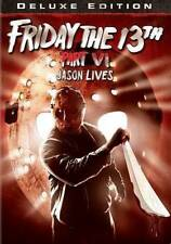 FRIDAY THE 13TH - PART 6: JASON LIVES NEW DVD