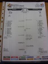 28/06/2000 EURO 2000: rapporti a tempo pieno-FRANCIA/PORTOGALLO [a Bruxelles]. l'oggetto