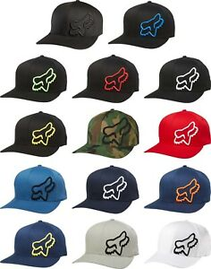 Fox Racing Flex 45 Flexfit Hat - Mens Lid Cap Curved Bill MX MTB Motocross ATV