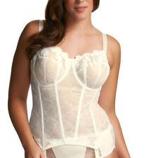 Lace Bridal Plus Size Strap Basques & Corsets for Women