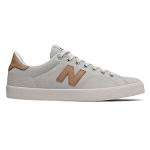"""New Balance # Numeric """"AM210"""" Sneakers (White/Tan) Men's Athletic Shoes"""