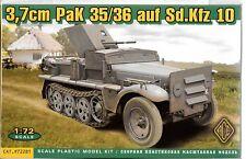 ACE 3.7cm Pak 35/36 Auf. Sd. Kfz 10 in 1/72 281  ST