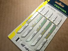 Festool 486553 Fast Cutting Jigsaw Blades Hs 75/4 bi (5 - Pack)