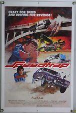 SPEEDTRAP FF ORIG 1SH MOVIE POSTER JOE DON BAKER CAR CRASH ACTION (1977)