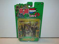 GI JOE 2003 VS COBRA BEACHHEAD v5 & COBRA SAND VIPER v1 MOSC - HASBRO