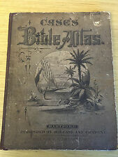 1877-CASE'S BIBLE ATLAS,TO ILLUSTRATE THE OLD & NEW TESTAMENTS FOR SUNDAY SCHOOL
