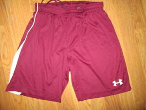 Boys UNDER ARMOUR  athletic loose fit shorts sz YLG L Lg soccer