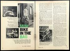 Minimo 30 German folding Motorcycle Minibike 1969 review