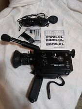 ELMO Super 8 Sound 260S-XL Macro Camera - Accessories - Manual