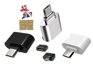 Micro USB To USB Adapter Mini OTG for Camera Samsung Xiaomi HTC Sony LG Android