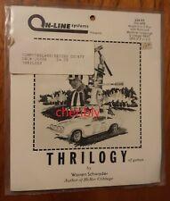 RARE SEALED Thrilogy On-Line Systems 5.25 disk Apple II,IIe,IIc,IIgs Sierra 1980