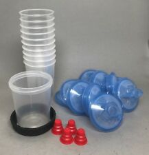 3M PPS  System Mini Cup w/ 125 micron Lids & Liners #16115/16314/1 10  Pack