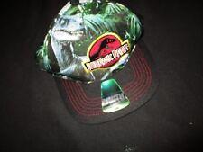 Jurassic Park World Youth Hat New Universal One Size Dinosaur Raptor